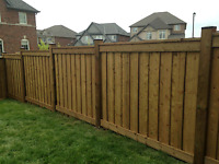 4×4/6×6 Fence Install Approx $25/50 Lin/ft