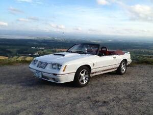 1984 1/2  GT350 mustang Convertibile FOR SALE