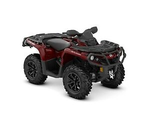 2018 Can-Am Outlander XT 650 Intense Red