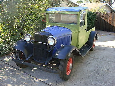1933 Ford Other Pickups pickup 1933 Ford pickup truck canopy rat hot rod scta 1932 1934 33 33 model B Titled