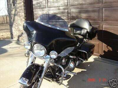 "7"" Chopped DARK TINT Windshield  Harley FLHTC FLHT FLHX, Street Glide, Touring"