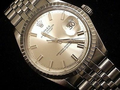 Rolex Datejust 1603 with Big Boy index and hands