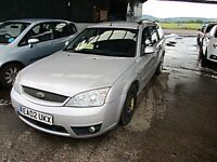 FULL YEAS MOT COMES WITH THIS CAR FORD MONDEO ZETEC-S - 2495cc