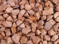 Red 20mm Garden and Driveway Chips