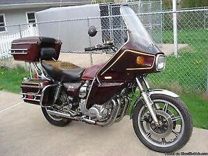 Xs1100 saddlebags and chrome trim