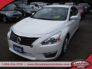 2015 Nissan Altima POWER EQUIPPED S MODEL 5 PASSENGER 2.5L - DOH