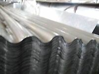 50 new corrugated galvanised steel roof sheets 10ft