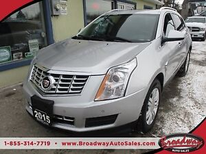 2015 Cadillac SRX LOADED ALL-WHEEL DRIVE 5 PASSENGER 3.6L - V6..