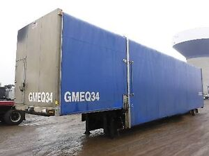2011 MANAC  CURTAIN SIDE TRAILER /  FRONT DECK 10,6' FLOOR 41