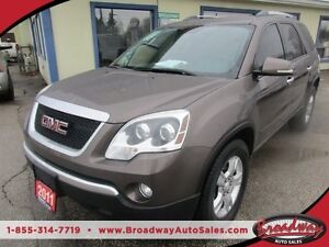 2011 GMC Acadia PEOPLE MOVING SLE EDITION 7 PASSENGER 3.6L - V6.