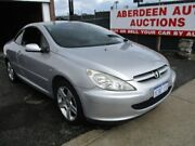 2005 Peugeot 307 CC Dynamic Silver 4 Speed Tiptronic Cabriolet West Perth Perth City Area Preview