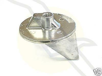 Trim tab anode boat parts ebay for Outboard motor trim tab