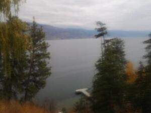 Lakefront with boat moorage 6 kms S of Peachland