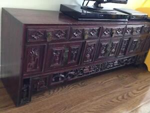 Magnificent antique cabinet on moving sale!!