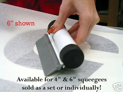 6 Ez Grip W Nylon Squeegee For Sign Vinyl Must See