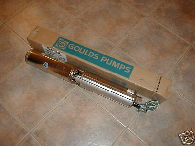 New Goulds 1 12 Hp 10 Gpm Submersible Water Well Pump
