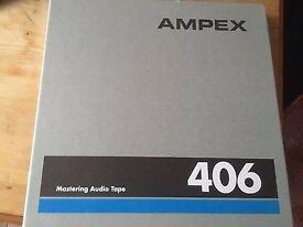 Ampex 406 7 Inch reel tape As New. PLEASE READ FULL DESCRIPTION