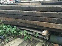 Railway Sleepers - New and Used