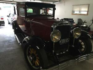 BUICK 2PORTE 1929 6CYLINDRE DE LUXE