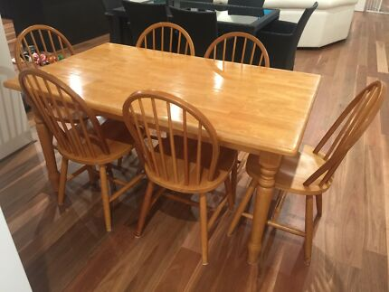 Wood Dining Kitchen Table 40000 Joondalup