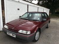 1990 Rover 414SLi, 4 door saloon. Good condition, low mileage.