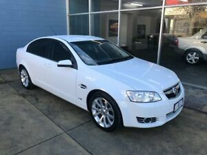 2011 Holden Commodore VE II MY12 Equipe White 6 Speed Automatic Sedan Hobart CBD Hobart City Preview