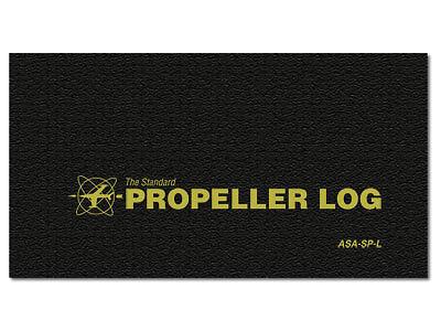 NEW Propeller Log - Softcover | ASA-SP-L | Aircraft Propeller Logbook