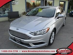 2017 Ford Fusion POWER EQUIPPED SE MODEL 5 PASSENGER 2.5L - DOHC