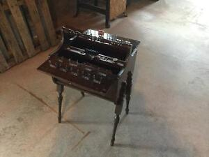 Antique sewing bucket