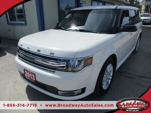 2013 Ford Flex LOADED SEL EDITION 7 PASSENGER 3.5L - V6.. BENCH
