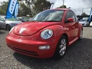 2005 Volkswagen Beetle 9C MY2005 Coupe Red 4 Speed Automatic Liftback Elizabeth West Playford Area Preview