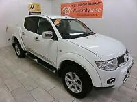 2011 Mitsubishi L200 2.5DI-D LB Double Pickup Barbarian ***BUY FOR £57 A WEEK***