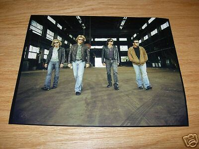Jon Bon Jovi Group Band Promo 8x10 Photo #2 Concert