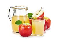 100% Natural Fresh Pressed Apple Juice
