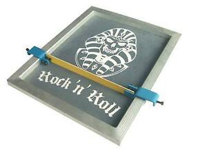 Screen printing Stencil Isolator Multi-color Print Tool Press two or more Colors in one pallet 007067