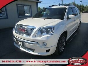 2012 GMC Acadia LOADED DENALI EDITION 7 PASSENGER 3.6L - V6.. AW