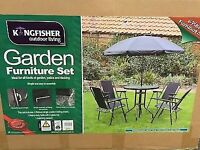 Brand New 6 Piece Patio Garden Furniture Set