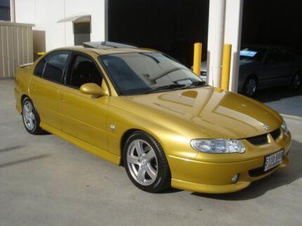 2001 Holden Commodore VX II S Hyper Yellow 4 Speed Automatic Sedan Croydon Charles Sturt Area Preview