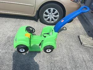 kids car with push handle