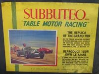 wanted subbuteo motor racing and space games