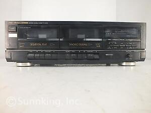 Fisher CR-W911A Stereo Double Cassette Tape Deck