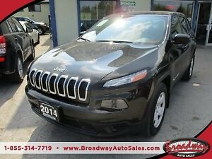 2014 Jeep Cherokee POWER EQUIPPED SPORT EDITION 5 PASSENGER 2.4L
