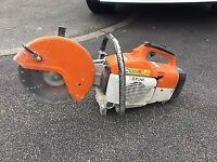 Stihl ts400 disc cutter good used condition just serviced