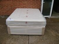 DOUBLE DIVAN WITH MATTRESS