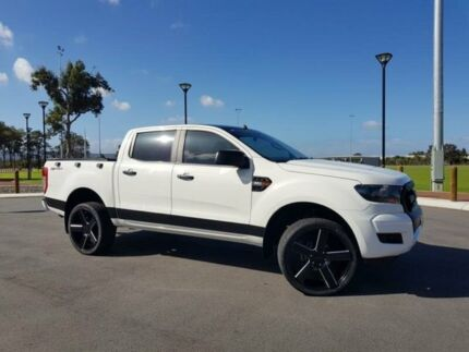 2015 Ford Ranger PX MkII XL 2.2 HI-Rider (4x2) White 6 Speed Manual Crew Cab P/Up