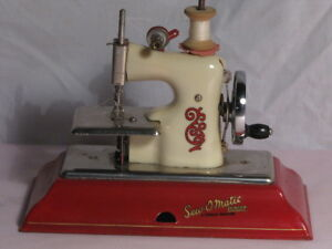 Sew-O-Matic Antique Toy Sewing Machine