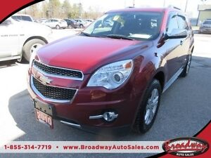 2010 Chevrolet Equinox LOADED LTZ MODEL 5 PASSENGER LEATHER.. HE