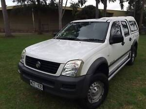 2003 Holden Rodeo Dual Cab 4WD 3.0 Litre Turbo Diesel