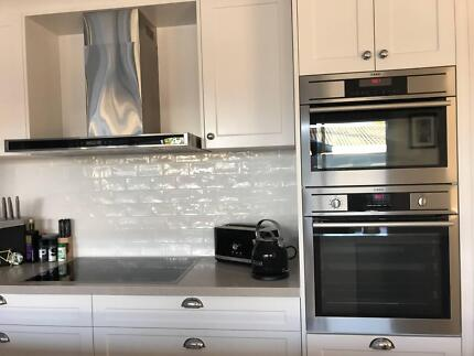 AEG Oven, Combi Oven, Induction and Rangehood! Great condition!