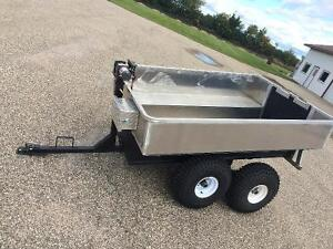 Hunting trailer for quads.